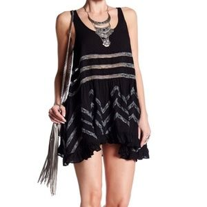 [Intimately Free People] Voile Lace Trapeze Dress